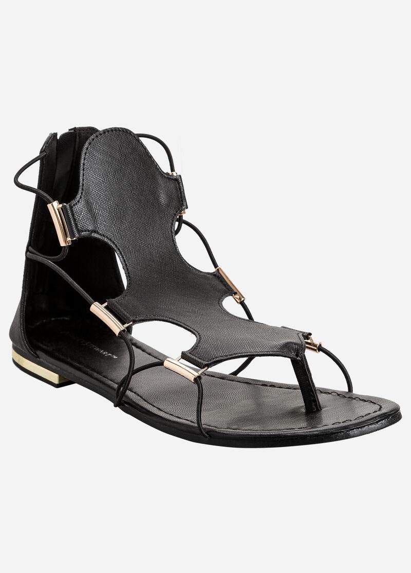 Black dress sandals wide width - Strappy Sandals Wide Width