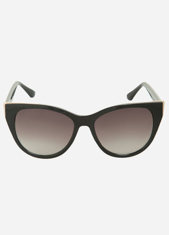 Perfect Cat Eye Sunglasses Black - Accessories