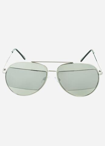 Tri-Tone Aviator Sunglasses