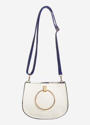 Circle Handle Crossbody Bag