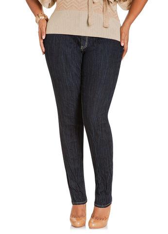 Extreme Wrinkle Skinny Jeans