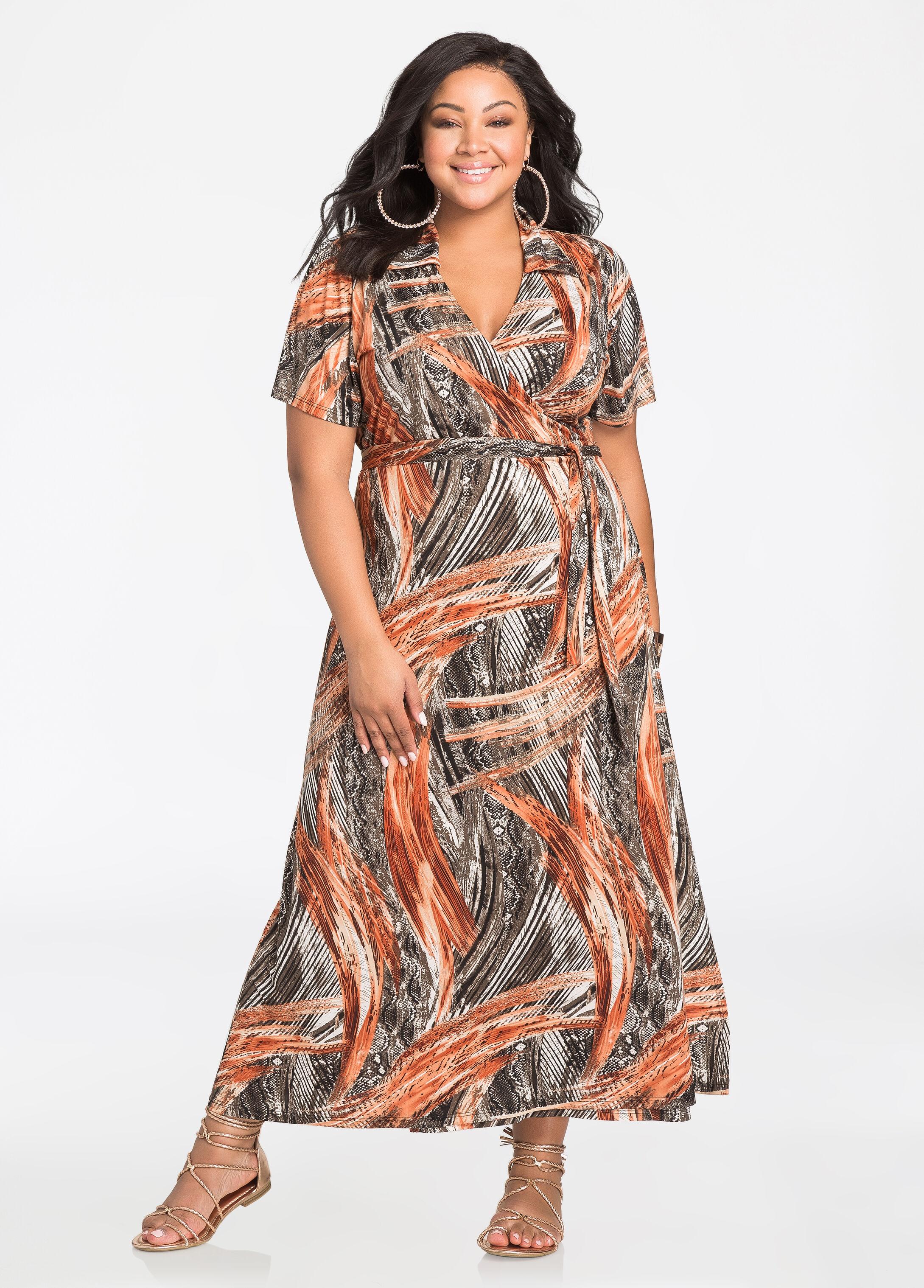 Maxi dress size large