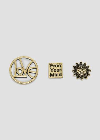 Free Your Mind Tac Pin Set