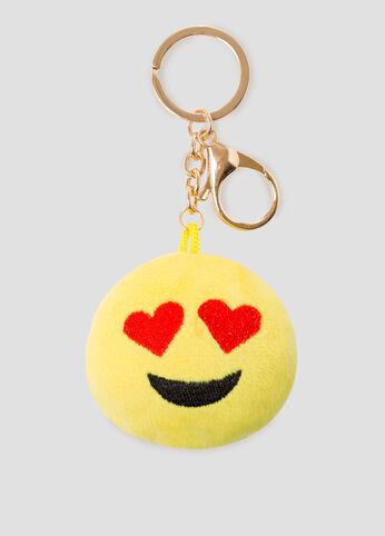 Heart Eyes Emoji Handbag Charm
