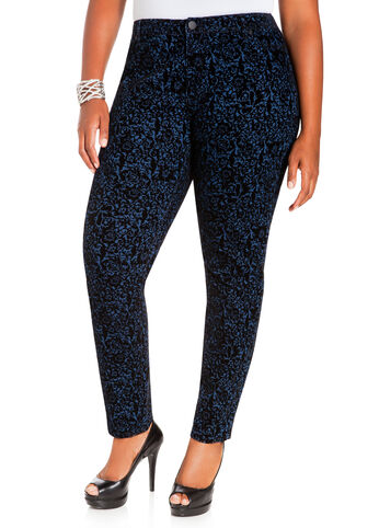 Denim Baroque Pants