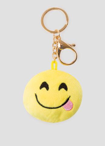 Humor Emoji Handbag Charm