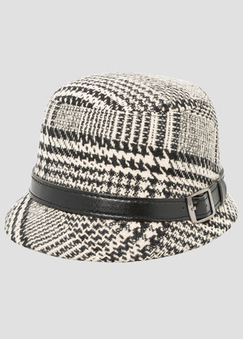 Tweed Small Brim Hat