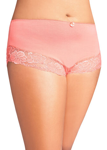 Cotton Lace Trim Panty