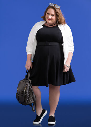 Plus Size Outfits - Sporty
