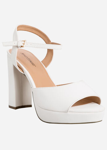 Ashley Stewart Chunky Platform Shoes - Wide Width