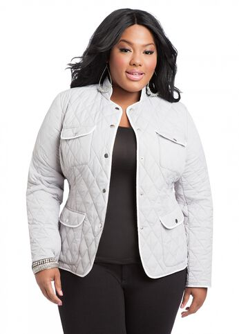 Quilted Lightweight Coat