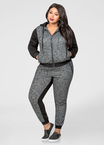 Coming And Going Mélange Jogger Pant