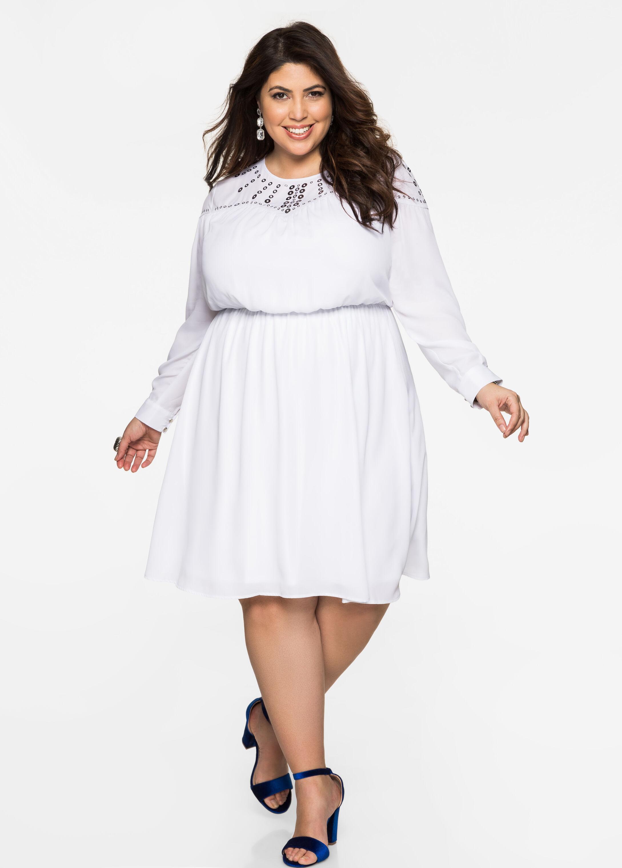 Clearance: Plus-Size Dresses On Sale   Ashley Stewart