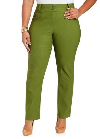 Mill Waist Slim Pants