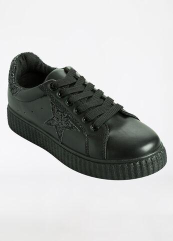 Sequin Side Star Sneaker