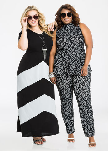 Plus Size Outfits - Bombshells in Black