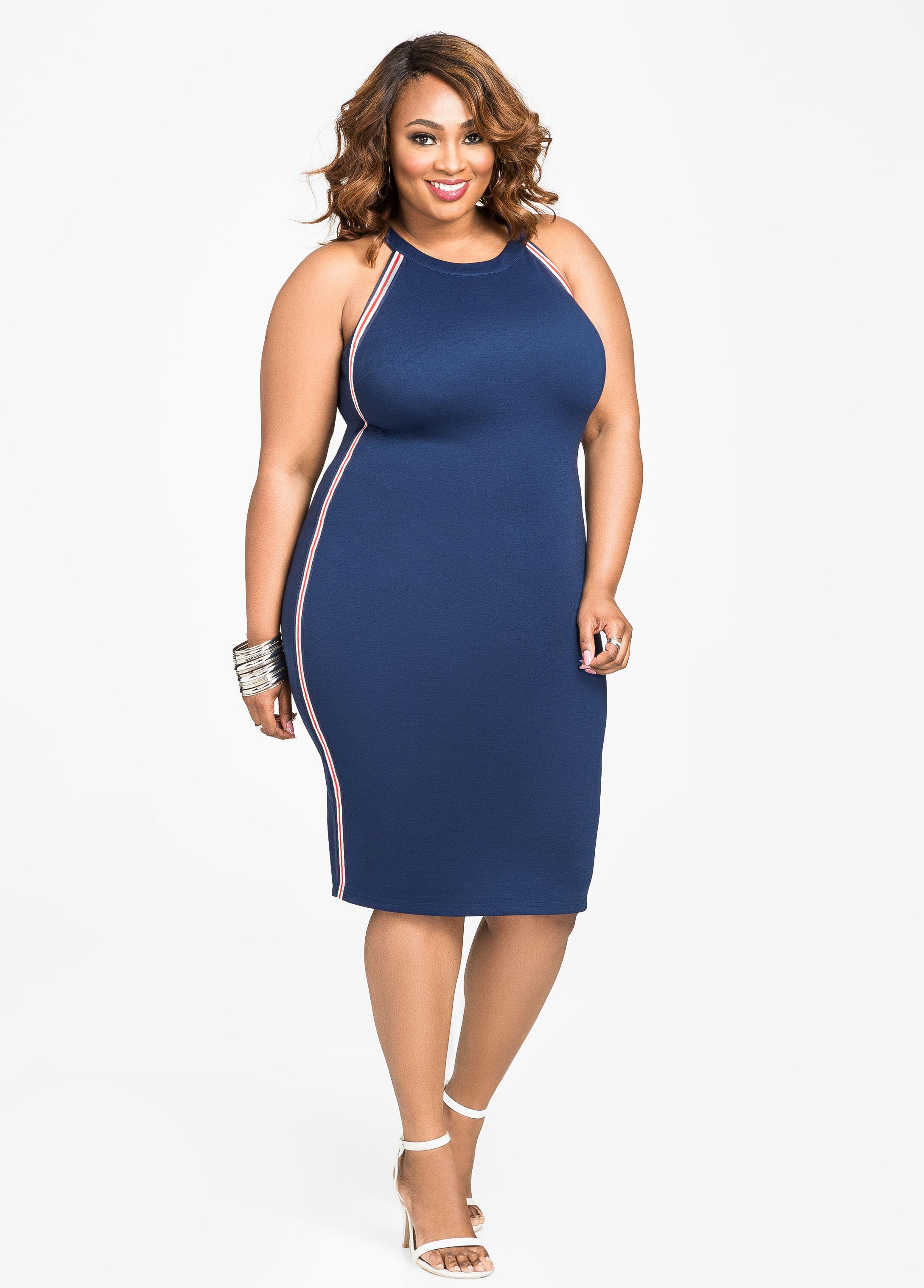 Sexy Plus-Size Bodycon Dresses & Bandage Dresses   AshleyStewart.com