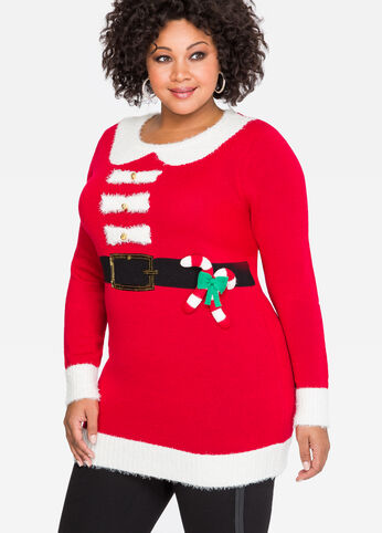 Santa Bells Holiday Sweater