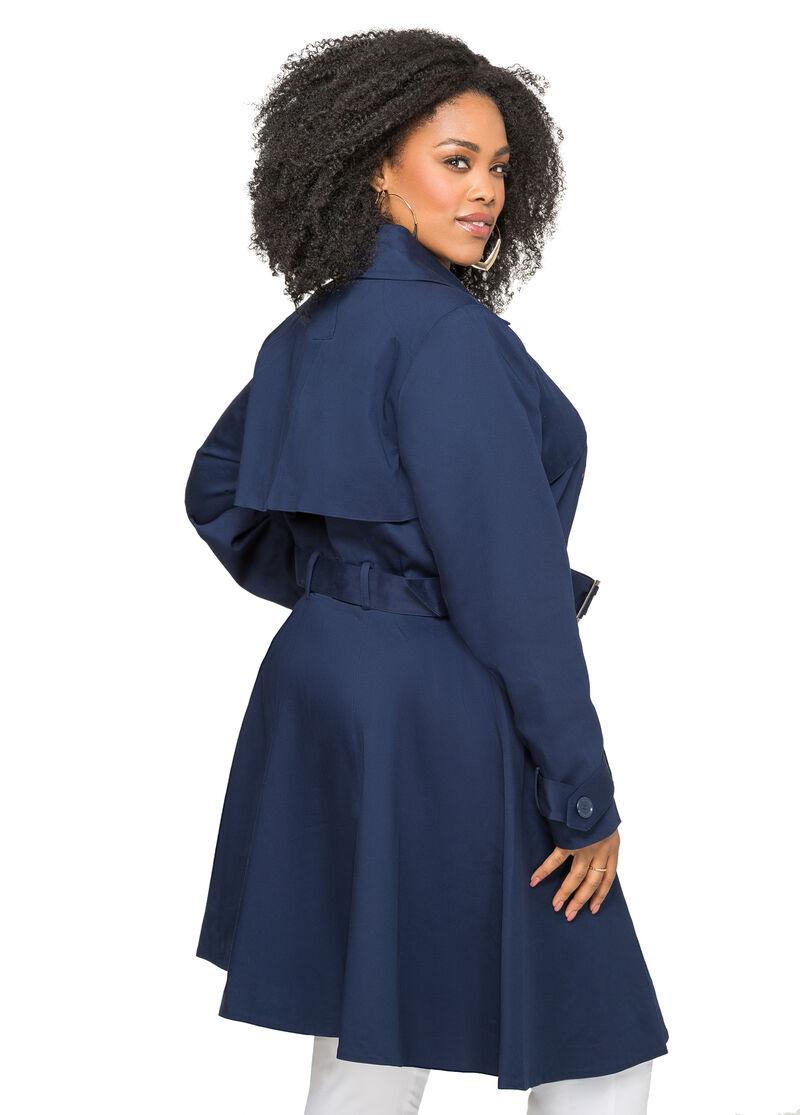 Classic Long Wool Coat: