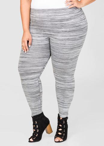 Fleece Lined Space Dye Leggings