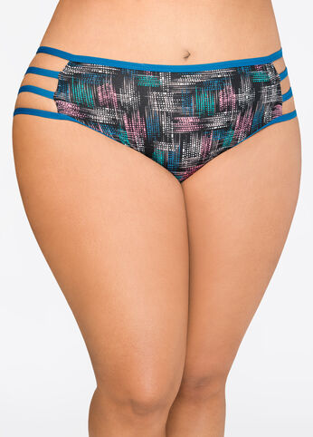 Strappy Side Bikini Panty Multi - Clearance