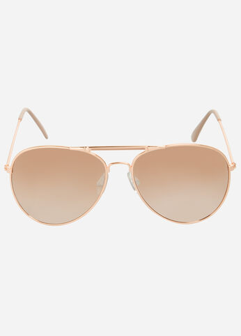 Classic Aviator Sunglasses Rose - Accessories