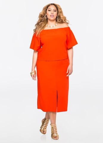 Plus Size Outfits - Orange you glad?