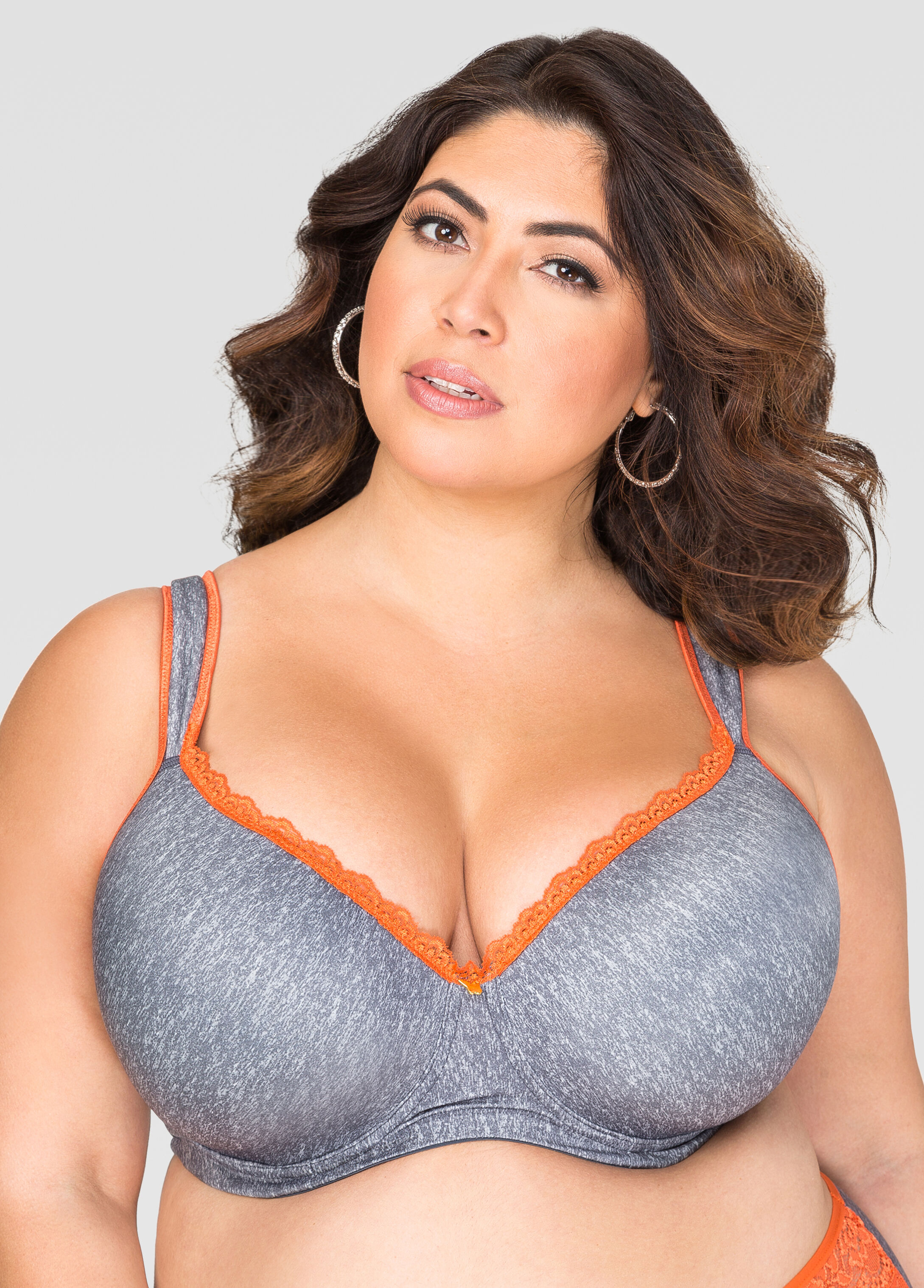 Extended Sizes! Full Coverage Butterfly Bra-Ashley Stewart-054-AS ...