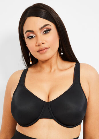 Underwire Soft Cup Bra Black - Intimates