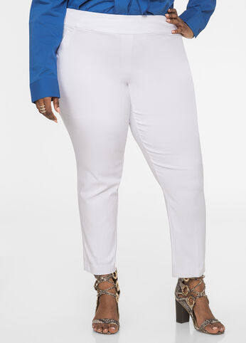 Ultra Stretch Skinny Pant White - Bottoms
