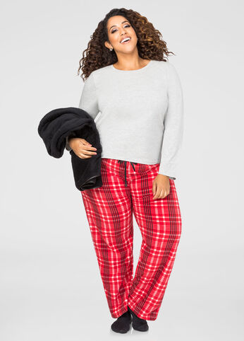 3-Piece Pajama Set plus Free Blanket