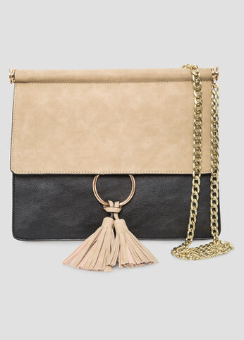 Tassel Ring Chain  Shoulder Bag