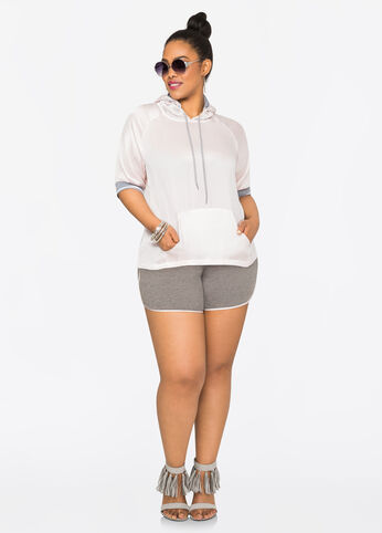 Plus Size Outfits - In Love with Sport Luxe