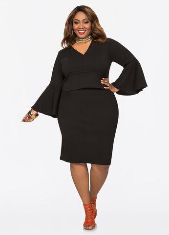 Plus Size Outfits - Hottie la Belle