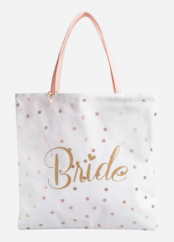 Newly Mrs. Bride Reversible Tote