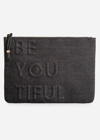 Top Zip Tech Pouch