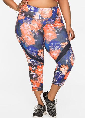 Slimming Capri Active Pants