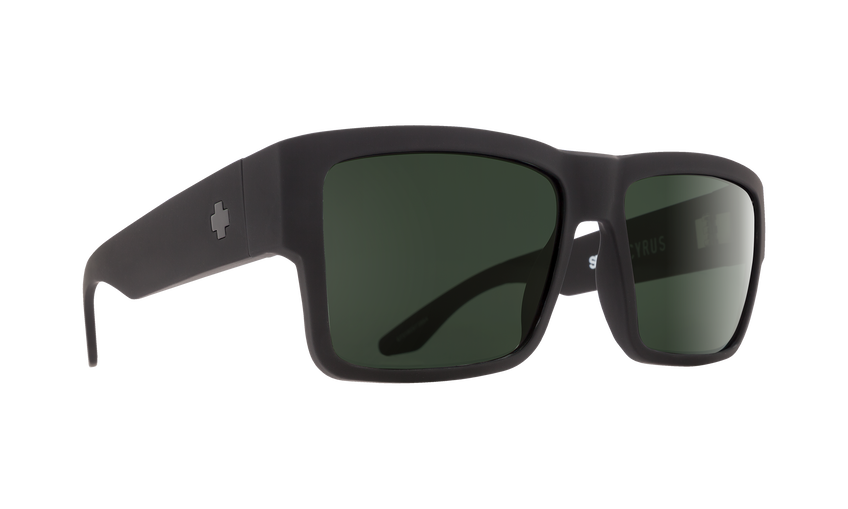 CYRUS SOFT MATTE BLACK - HAPPY GRAY GREEN POLAR