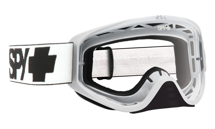 Woot Mx Goggle - White/Clear AFP