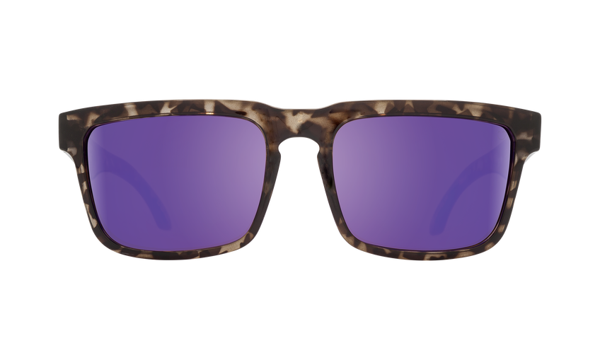 Helm - Smoke Tort/Happy Bronze with Purple Spectra