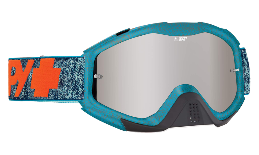Klutch Mx Goggle - Stone Wash/Happy Bronze with Silver Spectra + Clear AFP