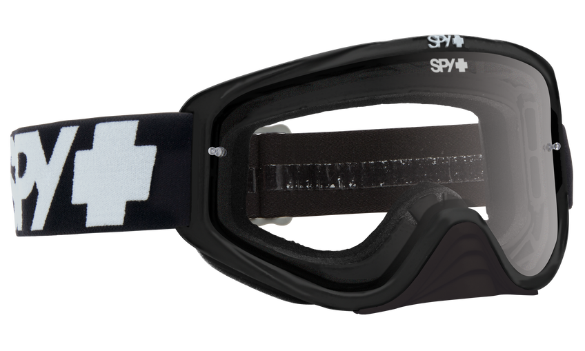 Woot Race Mx Goggle - Black Enduro/Clear Dual Lens + Clear AFP