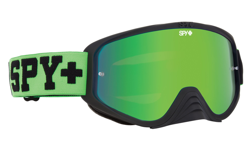 Woot Race Mx Goggle - Jersey Green/Smoke with Green Spectra + Clear AFP