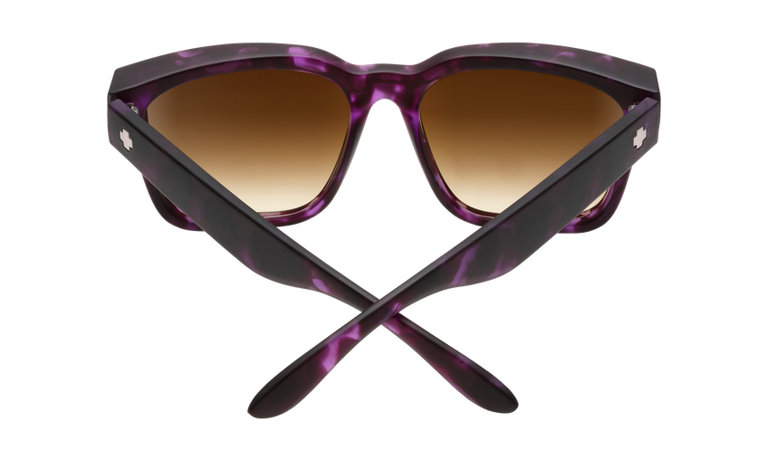 Bowie - Soft Matte Purple Tort/Happy Bronze Fade