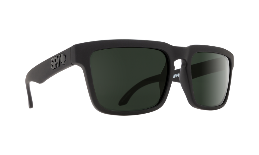 HELM SOFT MATTE BLACK - HAPPY GRAY GREEN