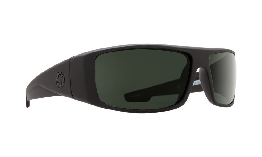 LOGAN SOFT MATTE BLACK - HAPPY GRAY GREEN