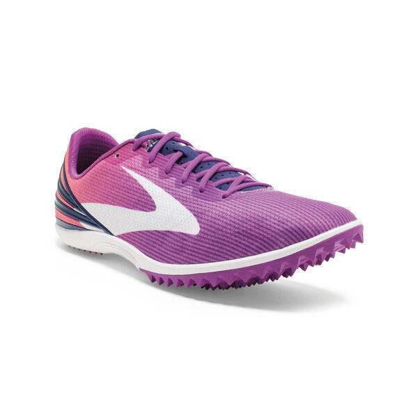 Women's Mach 17 Spikeless Cross Country Running Shoes   Brooks