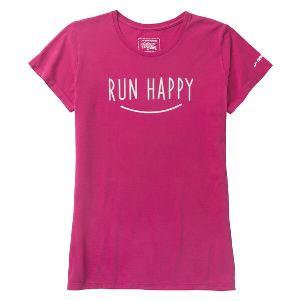 Brooks Run Happy Smile T-Shirt for Women