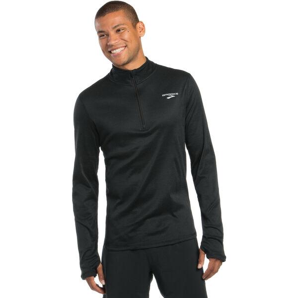 Brooks Men's Heater Hog 1/2 Zip Shirt