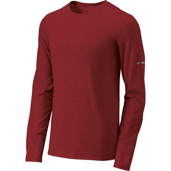Brooks Men's EZ T Long Sleeve Running Shirt